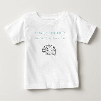 Sinneskörper-Stipendium OM, die Erholung treffen Baby T-shirt