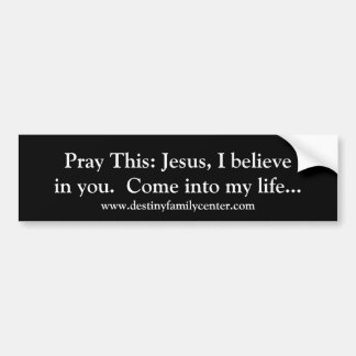 Sinnners Gebet Pint 1 Autoaufkleber