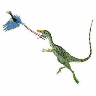Sinosauropteryx Dinosaurier-Foto-Skulptur Greg Freistehende Fotoskulptur
