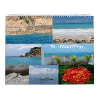 Sint Maarten - St Martin 12-monatiger Kalender