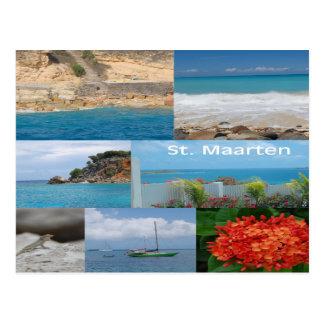 Sint Maarten - St- Martinpostkarte Postkarte
