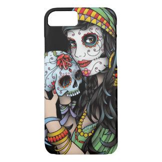Sinti und Roma-Frauen-Tag der Toten iPhone 8/7 Hülle