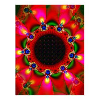Sinti und Roma-Sonnenblume Postkarte