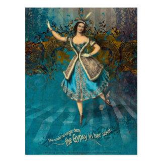 Sinti und Roma-Soul Postkarte