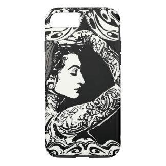 Sinti und Roma tätowierter Frauentelefonkasten iPhone 8/7 Hülle