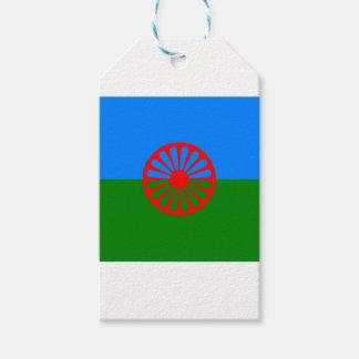 Sinti und Romaflagge Geschenkanhänger