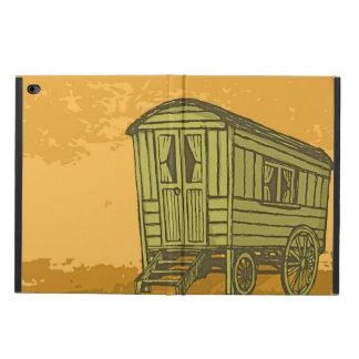 Sinti und Romawohnwagenlastwagen