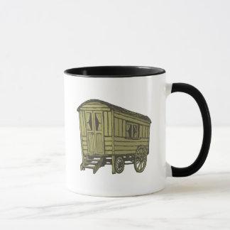 Sinti und Romawohnwagenlastwagen Tasse