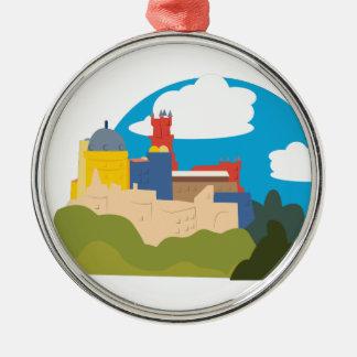 Sintra Silbernes Ornament