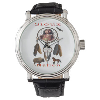 Sioux-Nation mercnandise Uhr