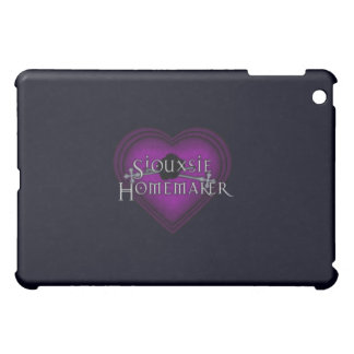 Siouxsie Hauswirtschaftsleiterin-lila Stricken iPad Mini Hülle