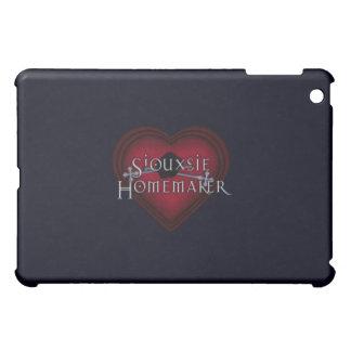 Siouxsie Hauswirtschaftsleiterin-rotes Stricken iPad Mini Hülle