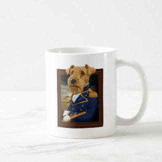 Sir Airedale Terrier Kaffeetasse