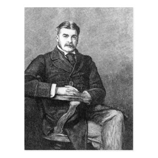Sir Arthur Sullivan, graviert von C. Carter Postkarte