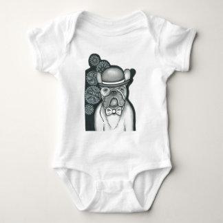 Sir Bouledogue Baby Strampler