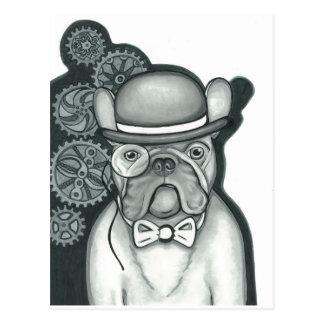 Sir Bouledogue Postkarte