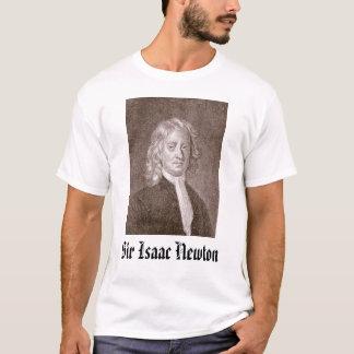 Sir Isaac Newton - besonders angefertigt T-Shirt