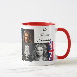 Sir Isaac Newton Tasse