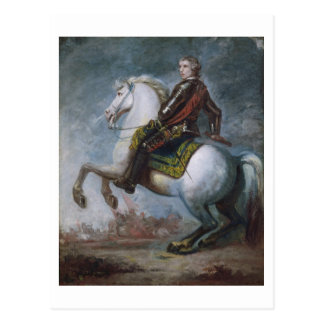 Sir Jeffrey Amherst (1717-97) c.1768 (Öl auf canva Postkarte
