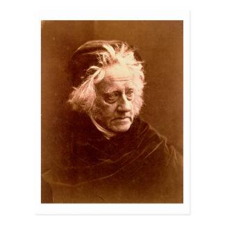 Sir John Frederick William Herschel (1792-1871) 18 Postkarte