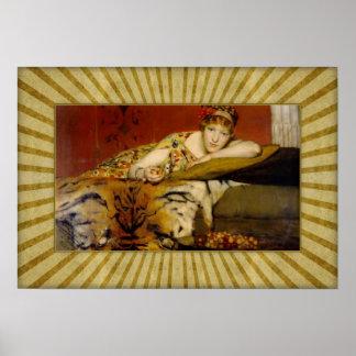 Sir Lawrence Alma-Tadema - Kirschen Poster