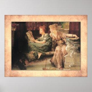Sir Lawrence Alma-Tadema - Vergleiche Poster