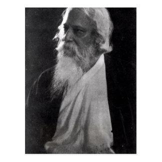 Sir Rabindranath Tagore Postkarte