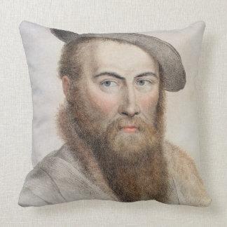 Sir Thomas Wyatt (c.1503-42) graviert von Zierkissen
