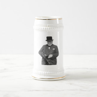 Sir Winston Churchill Bierglas
