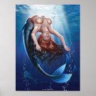 """""""Sirene-"""" Leinwand-Kunst Poster"""