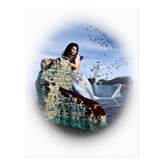 Sirene-Lied Postkarte