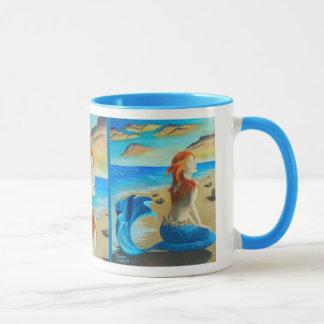 Sirene-Tassen-Meerjungfrau-Tasse Tasse