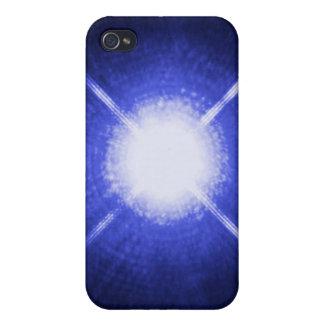 Sirius A und B helle Nachtsterne iPhone 4 Schutzhülle