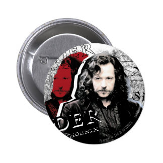 Sirius Schwarzes Runder Button 5,1 Cm
