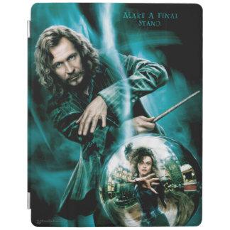 Sirius Schwarzes und Bellatrix Lestrange iPad Hülle