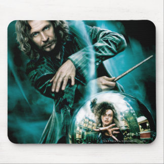 Sirius Schwarzes und Bellatrix Lestrange Mousepad