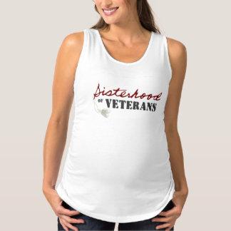 Sisterhoodmutterschafts-Trägershirt Schwangerschafts Tank Top