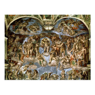 Sistine Kapelle: Das letzte Urteil, 1538-41 Postkarte