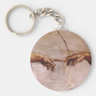 Sistine Kapellen-Decke Schlüsselanhänger