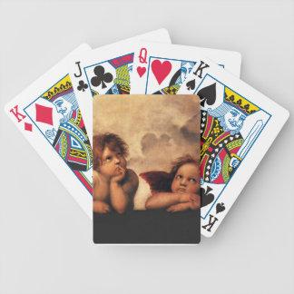 Sistine Madonna 2 Engel durch RAPHAEL Bicycle Spielkarten