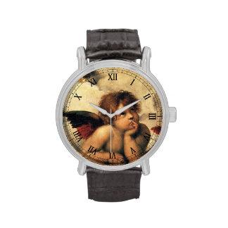 Sistine Madonna, Engelsdetail durch RAPHAEL Uhren