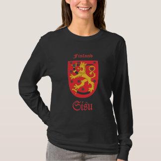 Sisu Suomi langer Hülsen-T - Shirt