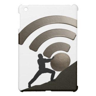 Sisyphus, das den Radioapparat in der Hölle iPad Mini Hülle