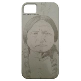 Sitting Bull: Gebürtiger Ureinwohner-Sioux-Krieger iPhone 5 Schutzhüllen