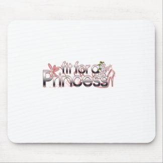 Sitz für eine Prinzessin Girl Glass Slipper Mousepad