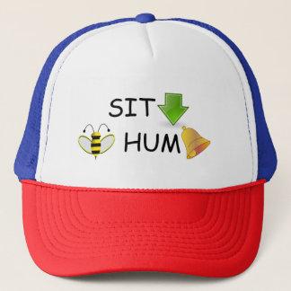 Sitzen Sie Summen-Hut Truckerkappe