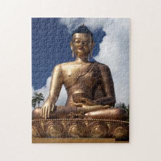 Sitzende Buddha-Statue Puzzle