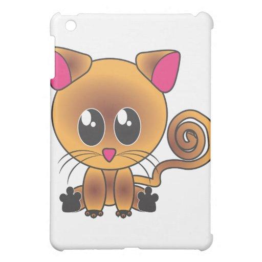 Sitzende Katze iPad Mini Cover