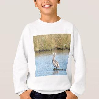Sitzender Pinguin-Vogel Sweatshirt