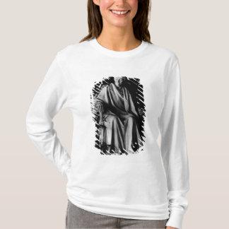 Sitzskulptur von Voltaire T-Shirt